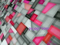 ノバン ポジャギ チョガッポ グレーとピンク
