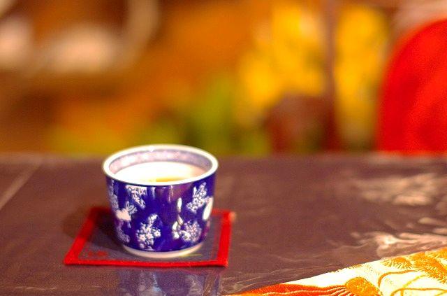 アートスペース&カフェ 大蔵清水湯で季節の小鉢を頂く