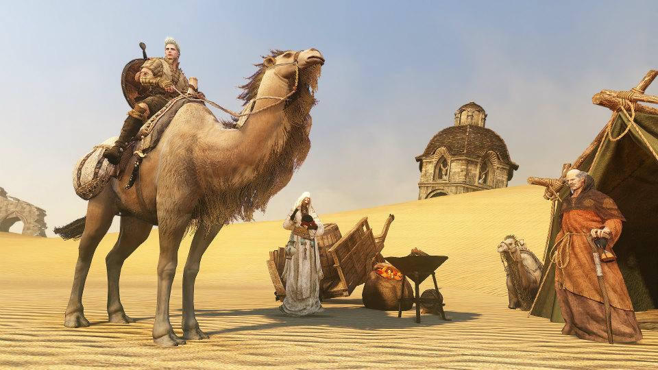 基本無料のノンターゲティングアクションMMORPG『黒い砂漠』
