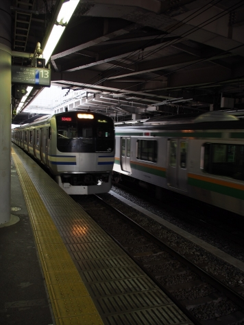 横須賀線・総武快速線 E217系 電車