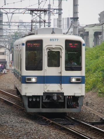 東武鉄道 亀戸線 8000系電車