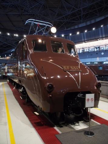 EF55 1 電気機関車【鉄道博物館】