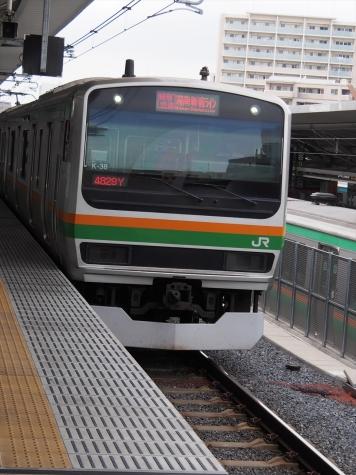 湘南新宿ライン E231系 電車