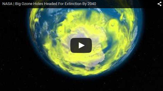 NASA「オゾンホールは今世紀末に消滅する」
