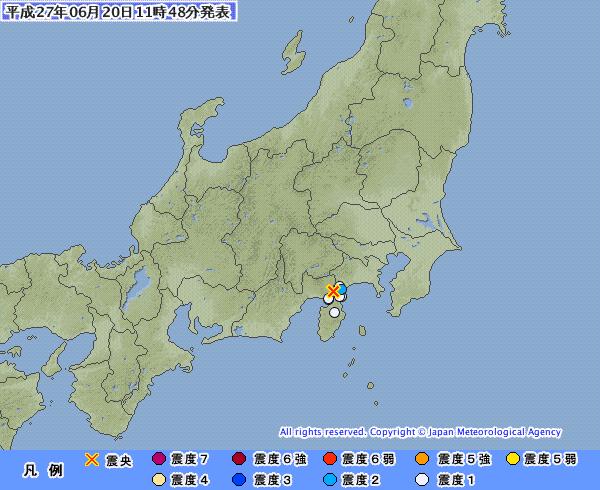箱根山で火山性地震が急増…200回近く