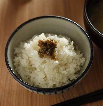 ふき味噌ご飯