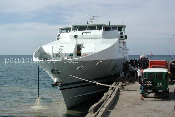 インドネシアの船