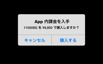 11000SG課金