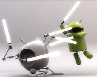 iPhone対Android