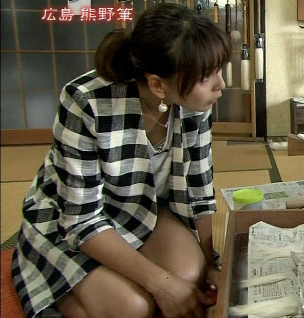 加藤夏希 太もも生足&胸ちらキャプ画像(エロ・アイコラ画像)