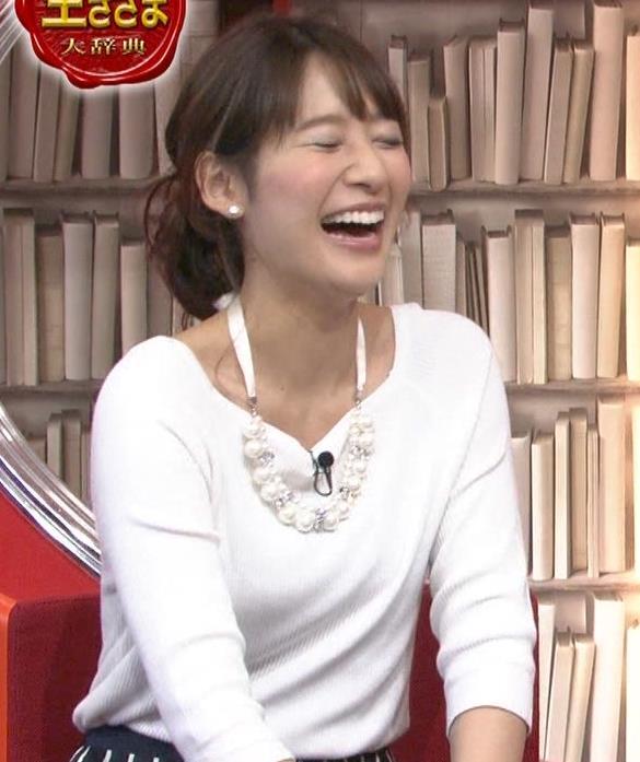 吉田明世 白い長袖キャプ画像(エロ・アイコラ画像)