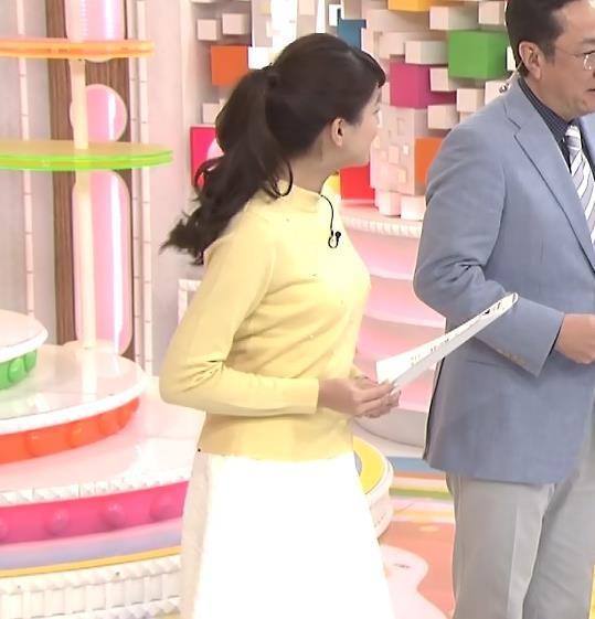 永島優美 横乳キャプ画像(エロ・アイコラ画像)