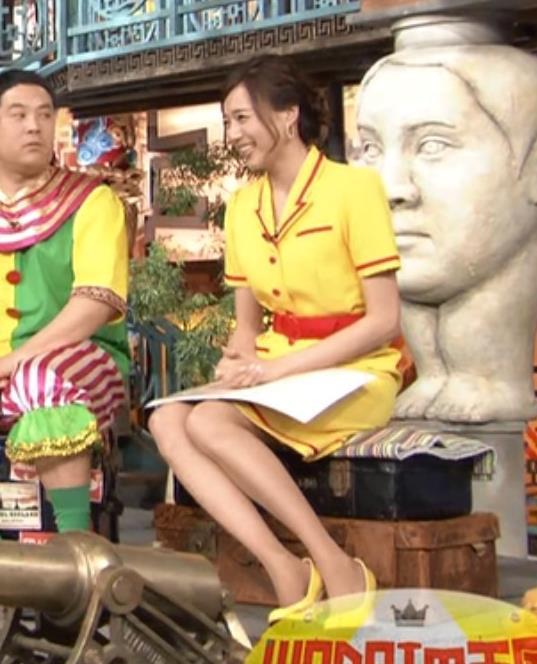 笹川友里 TBSアナのミニスカ美脚キャプ画像(エロ・アイコラ画像)