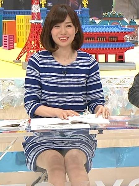 山崎夕貴 ミニスカ美脚キャプ画像(エロ・アイコラ画像)