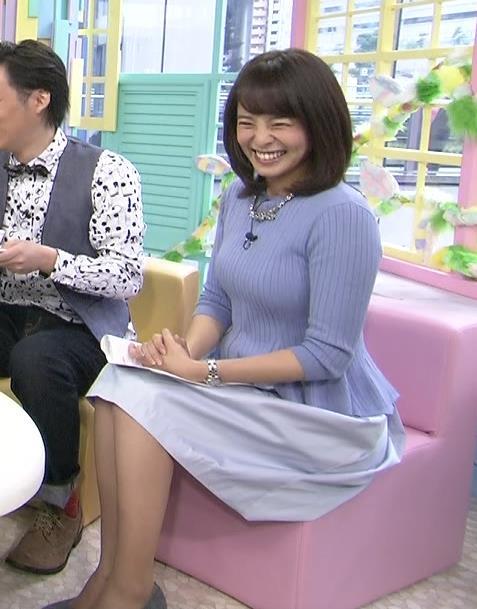 上田まりえ 巨乳化してるキャプ画像(エロ・アイコラ画像)