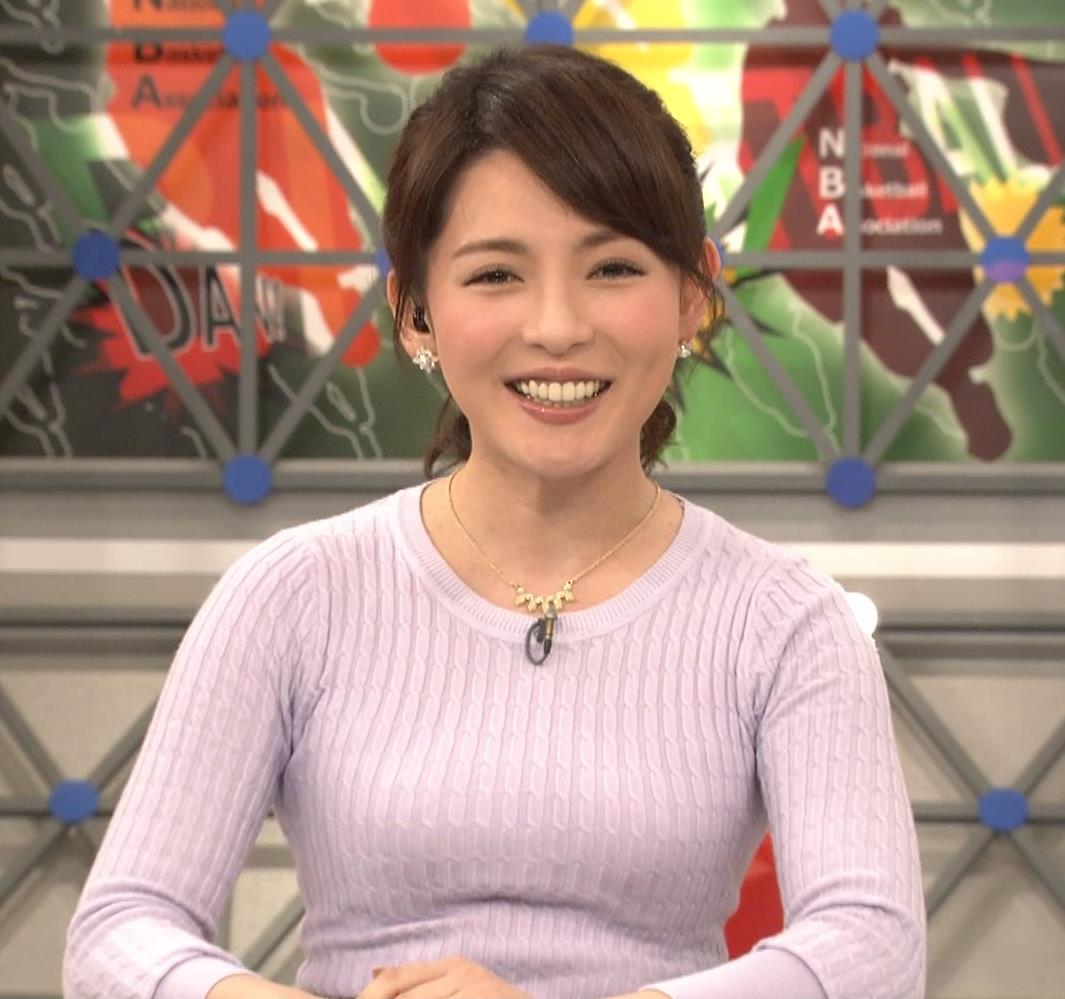 深津瑠美 ニットでおっぱい強調キャプ画像(エロ・アイコラ画像)