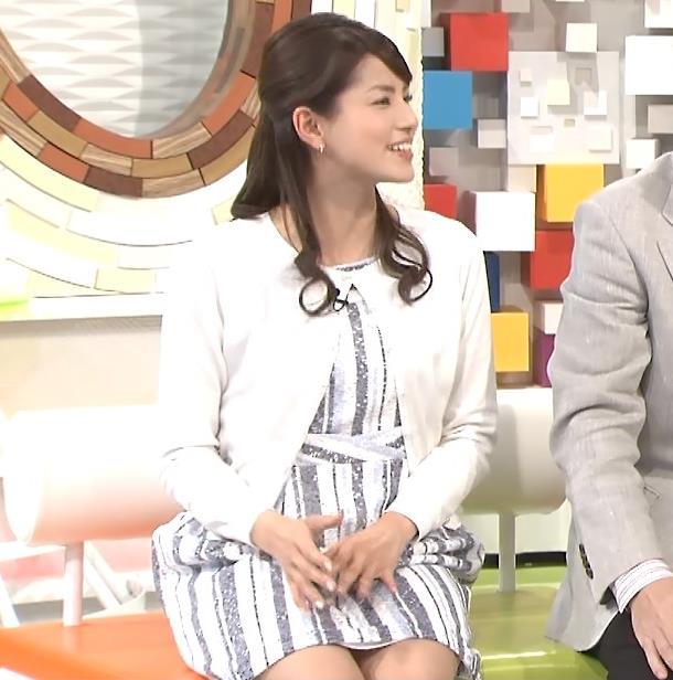 永島優美 太ももキャプ・エロ画像