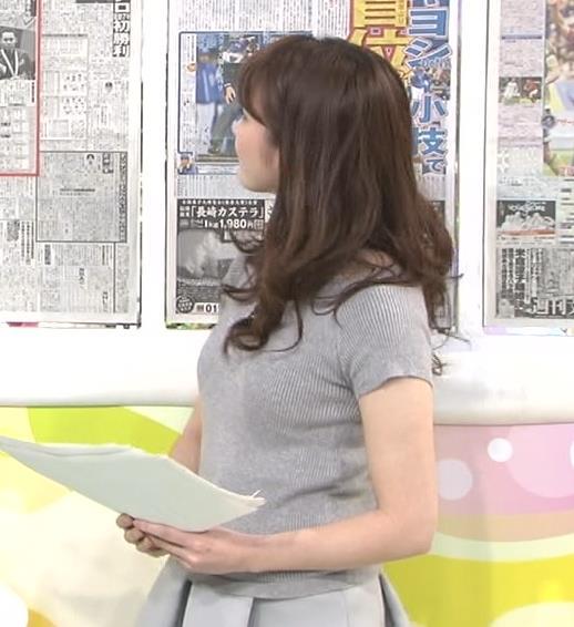 三上真奈 タイト衣装のおっぱいキャプ画像(エロ・アイコラ画像)