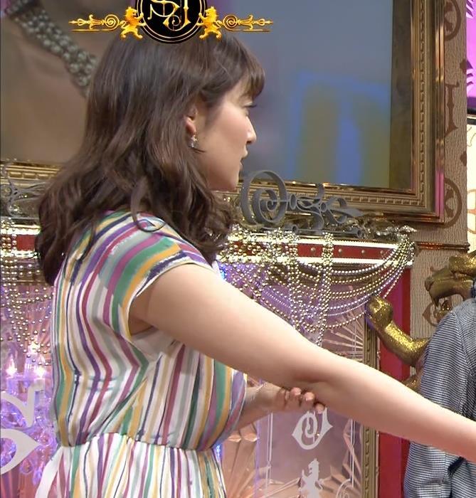 吉田明世 二の腕横乳キャプ画像(エロ・アイコラ画像)