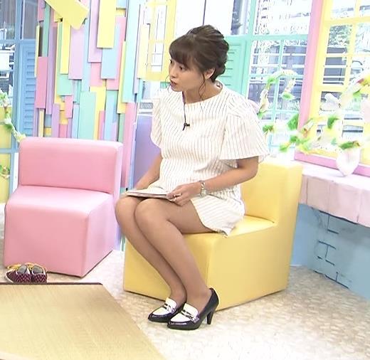 上田まりえ ムチムチ太ももキャプ画像(エロ・アイコラ画像)