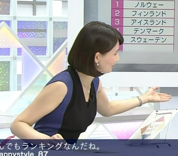 井上あさひ ショートカット&ノースリーブキャプ画像(エロ・アイコラ画像)