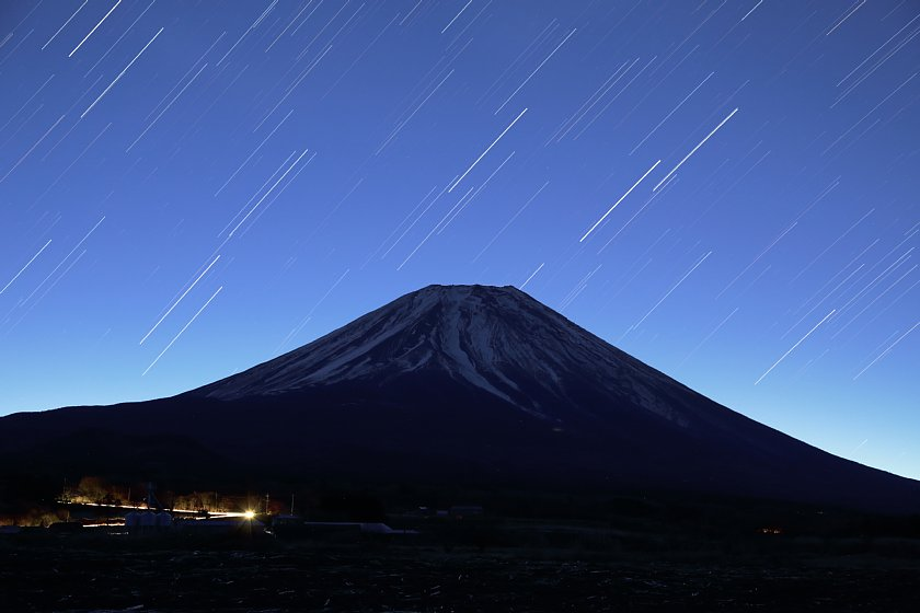 【都市星景】富士山