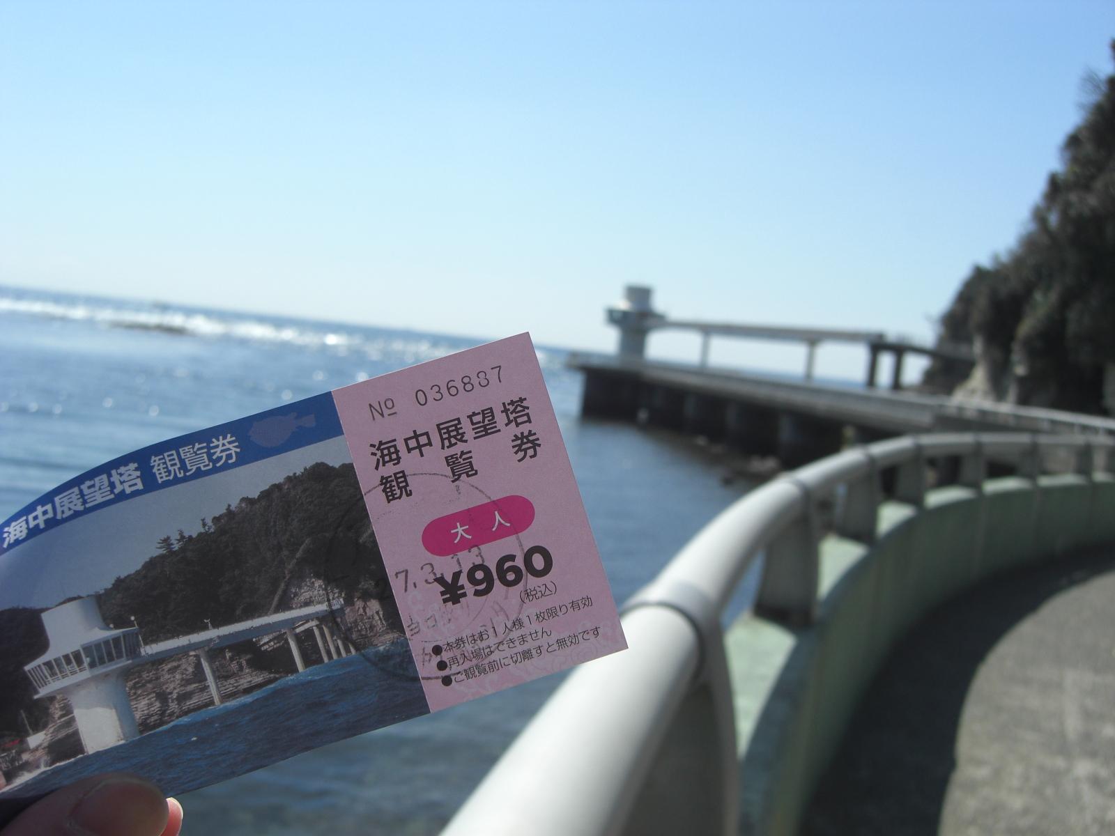 千葉南房総ツーリング*勝浦海中公園1