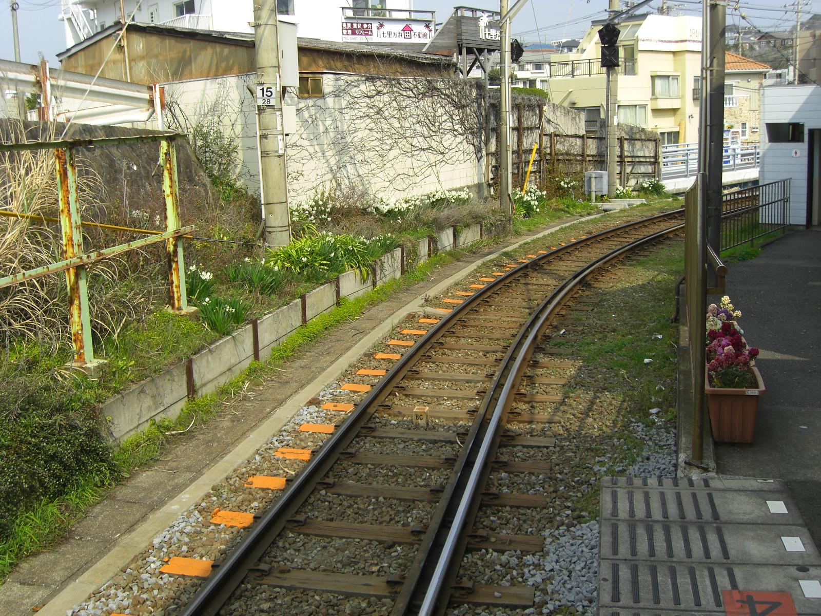 江の電途中下車@七里ヶ浜駅その3