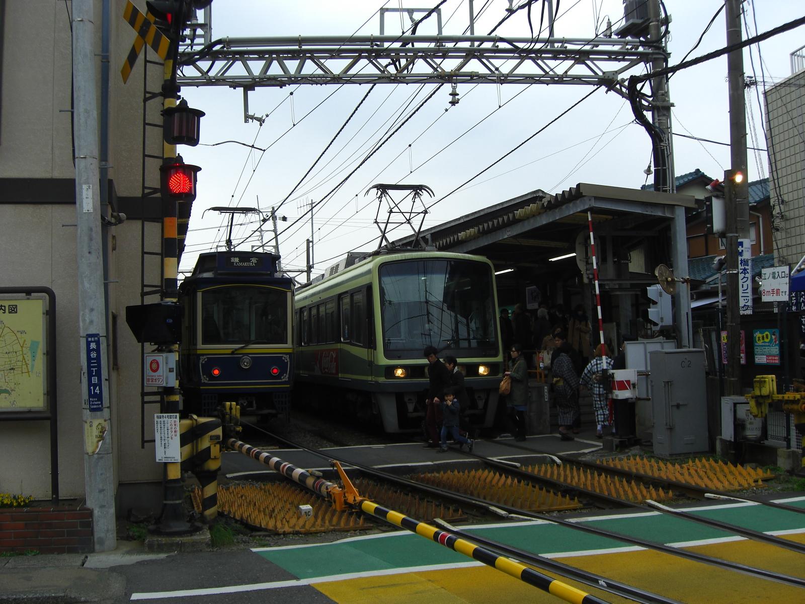 江の電途中下車@長谷駅その2