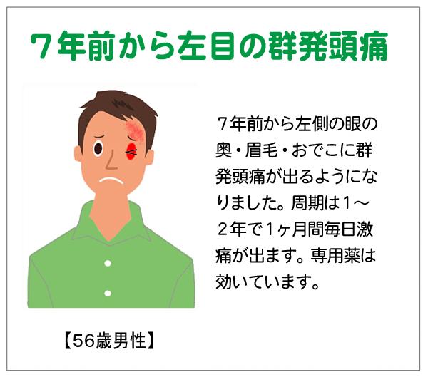 7年前から群発頭痛14-10-16