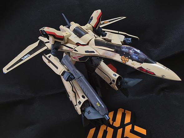 DX超合金 劇場版マクロスF サヨナラノツバサ VF-19 ADVANCE 約250mm ABS&PVC&ダイキャスト製 塗装済み可動フィギュア