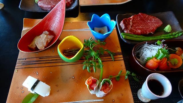 山本小屋ふるさと館 食事編 (2015年6月)