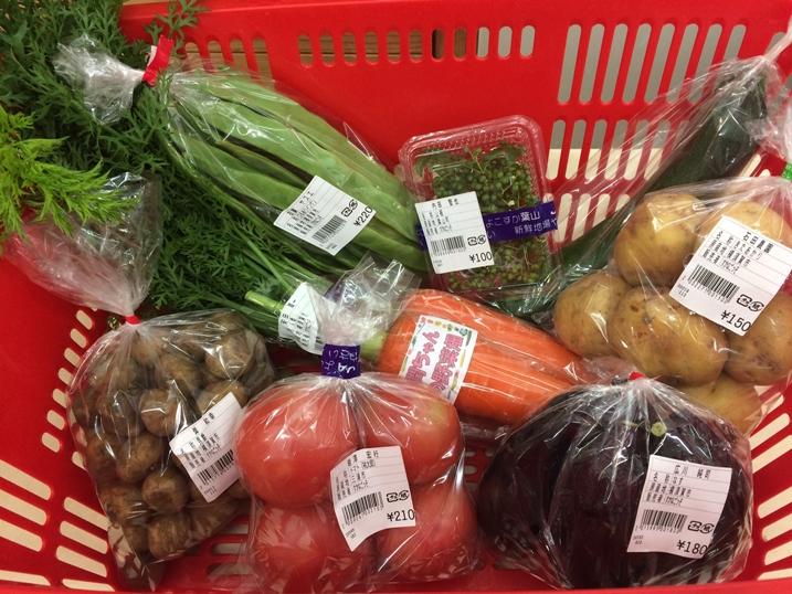 野菜、高いですね・・・