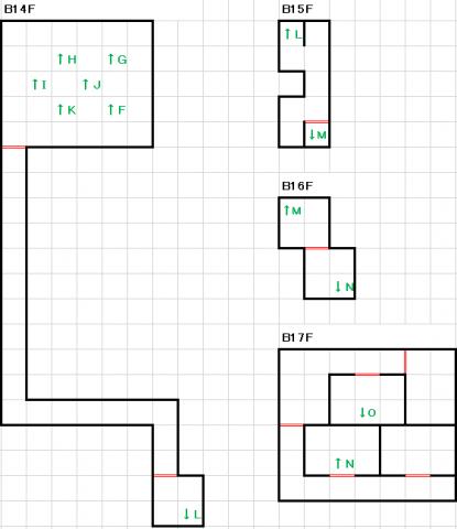 スーパーブラックオニキス深海B14F~B17F